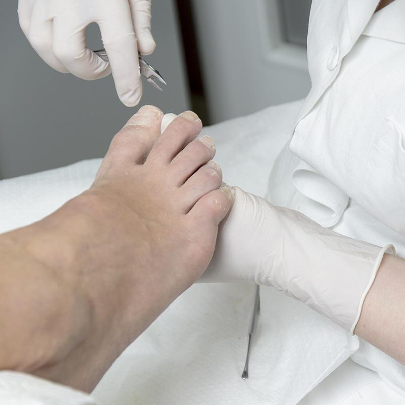 Basis pedicure behandeling bij Pedicure Vleuten