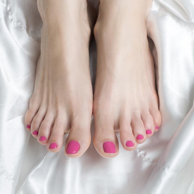 Gellak laten aanbrengen op de voeten bij Pedicure Vleuten